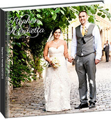 Wedding Photo Book Example Stephen Henrietta
