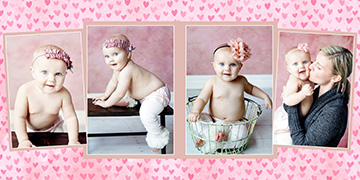 baby photo book design