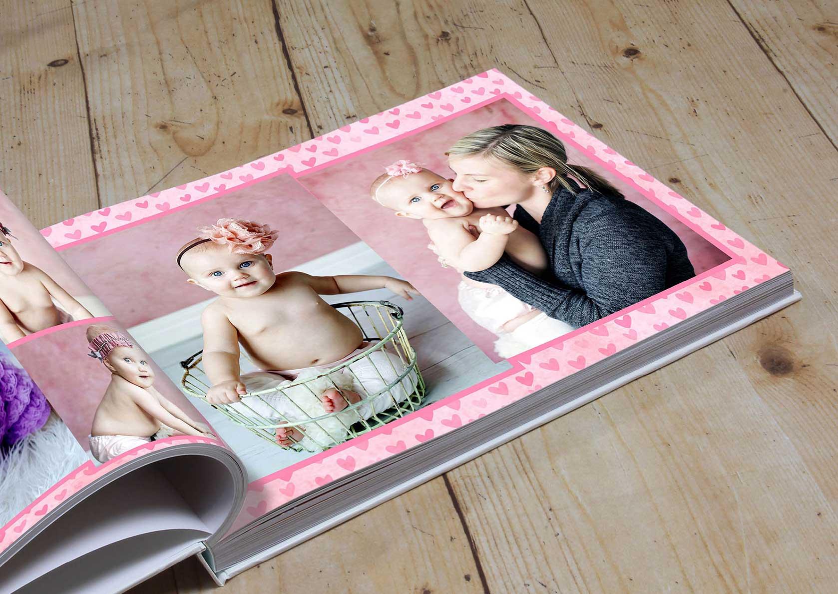 Custom Order Custom Baby Album Baby/'s First Photo Album Personalized Baby Albums New Baby Photo Album Personalized Baby Photo Album