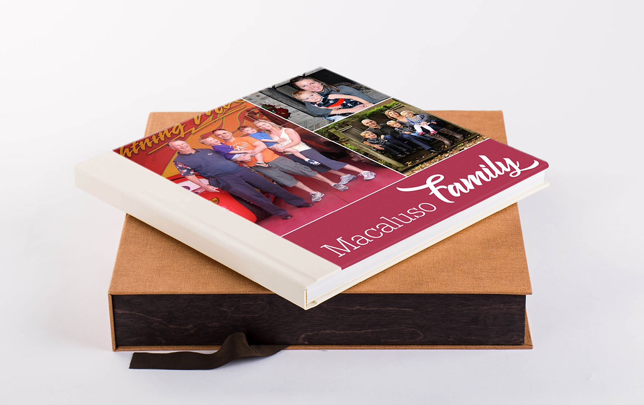Family Photo Album Box