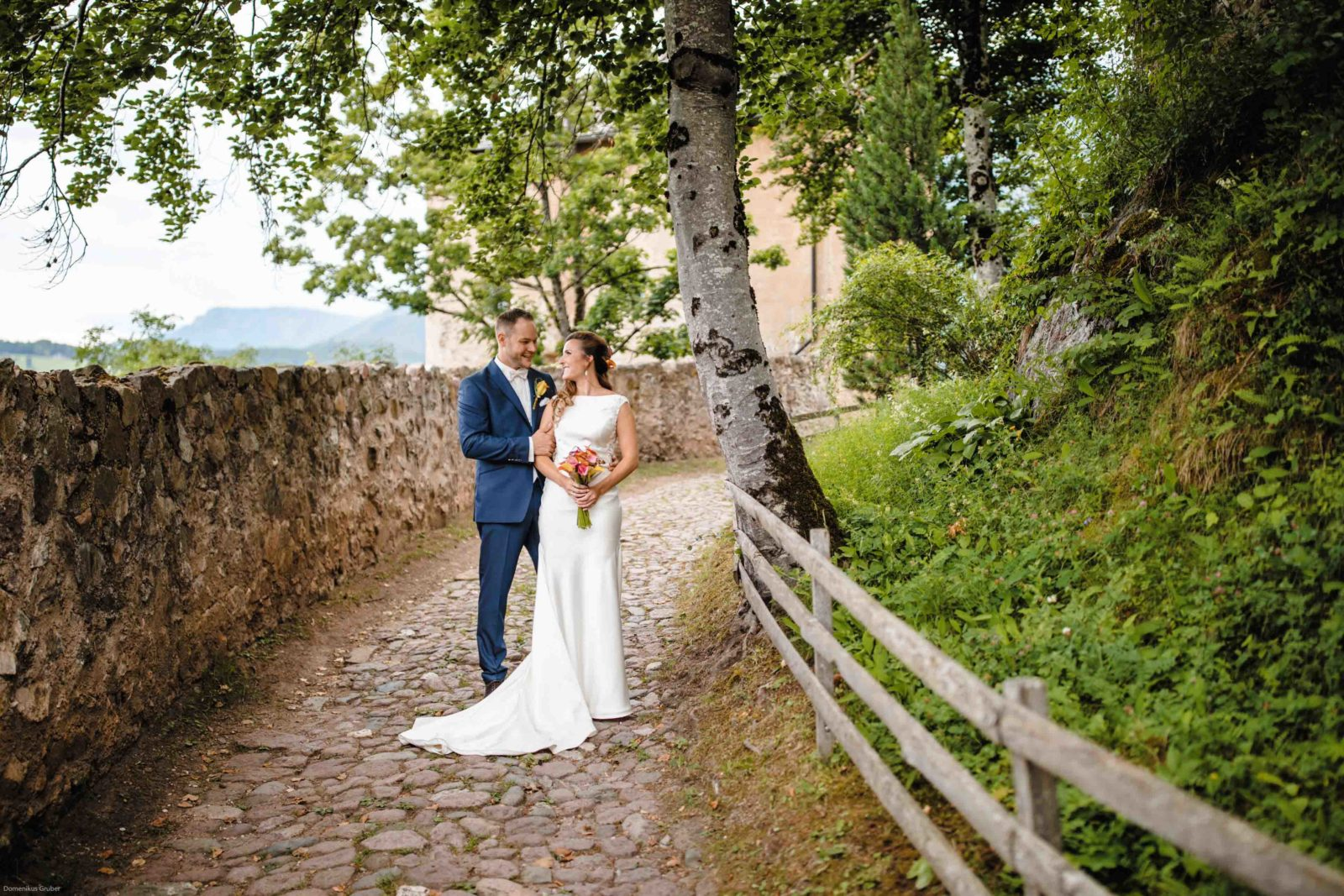 German Wedding Couple
