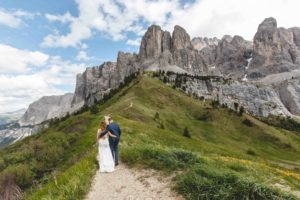Wedding Couple Alps