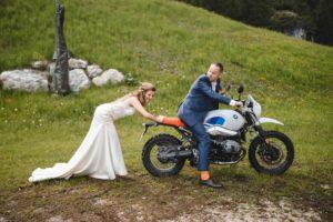 Wedding Couple BMW