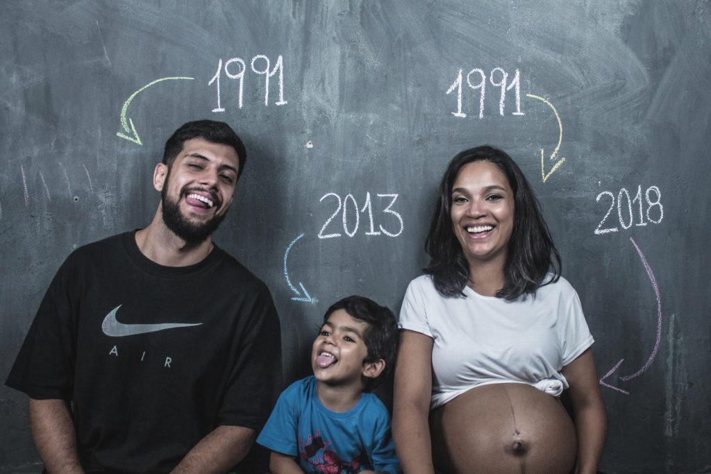 Creative ideas for a pregnancy photoshoot